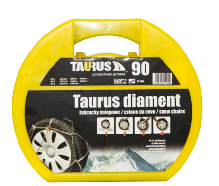 Łańcuchy TAURUS Diament 12mm gr. 90